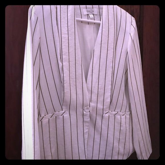 shilla the label Jackets & Blazers - Shilla The Label black and white blazer